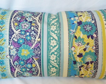 Persian Night by Collier Campbell - Decorative Lumbar pillow Cover / Both Sides / 14 x 26