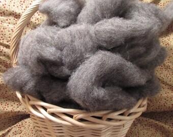 Dark Gray Jacob Sheep roving from Ivan & Izzy