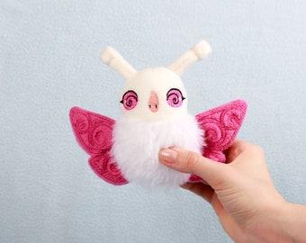 Lemoni Moth Handmade Soft Toy Plushie