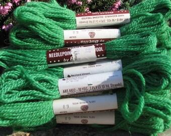 Vintage Needlepoint &Crewel Wool Yarn - Bucilla Yarn