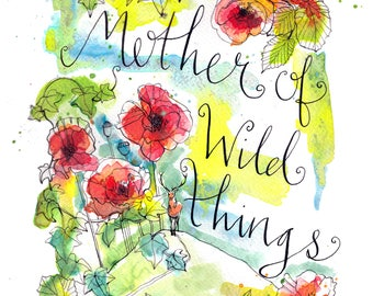 Mother of Wild Things Print