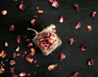 Dried Rose Flower Petals, per ounce wholesale, Perfect for Teas, Tinctures, Potpourri, and A Great Addition to a Relaxing Bath