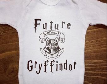 Harry Potter shirt, Future Gryffindor, Hogwarts Shirt, Hogwarts Onesie, Baby Harry Potter, Gryffindor Onesie