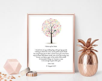 Father Of The Bride - Print - Thank You Gift - Wedding Print