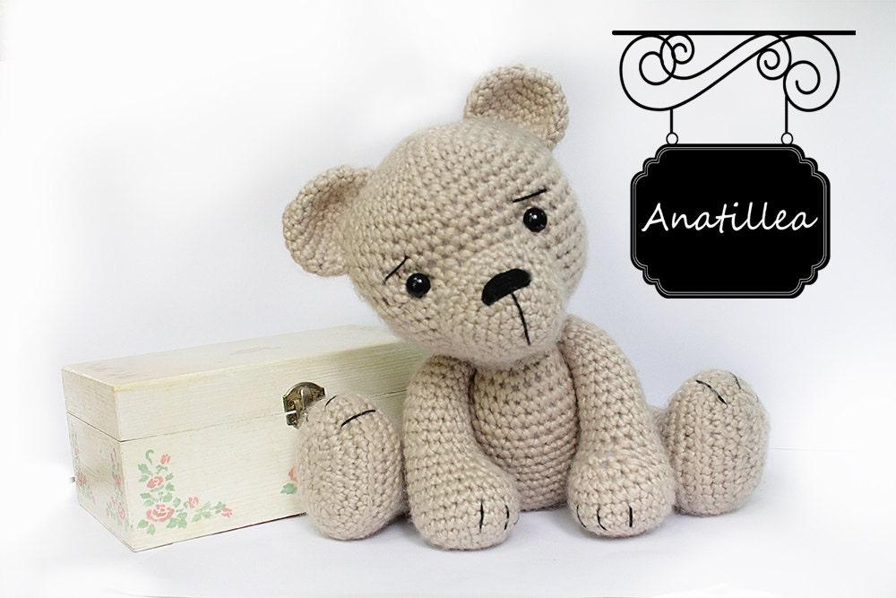 Amigurumi Oso Panda Patron : Amigurumi patterns bear popular patterns all your