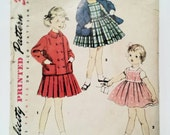 1950s Girls Dress Pattern...
