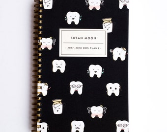 Lilac Planner - Sebastian Color - Dental and Dental Hygiene Student Planner - Lilac Paper