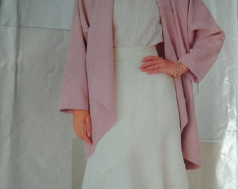 Misses Jacket and Skirt Sizes 8-10-12 See & Sew by Butterick Pattern 5535 Vintage 1968 - UNCUT Pattern
