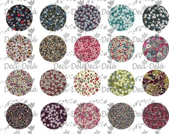 """150 digital images for cabochons """"liberty"""" 30 designs 5 size"""