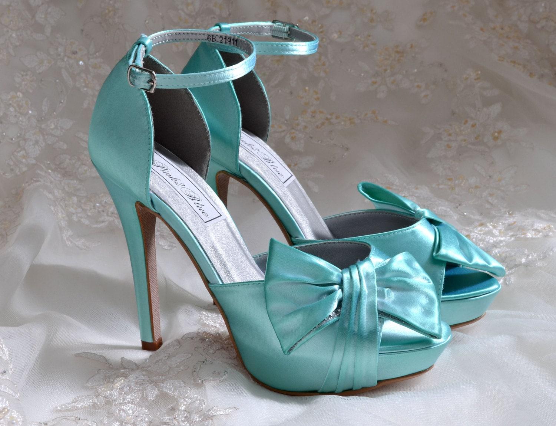 Custom color wedding shoes bridal shoes womens wedding zoom junglespirit Gallery