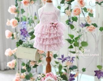 Alicia - Designer Handmade pink cancan dress for Pets / Free Shipping