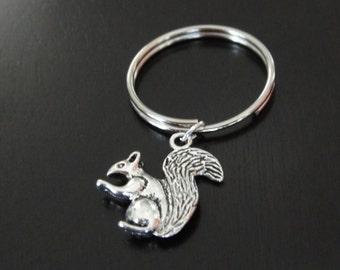 Squirrel Key Chain