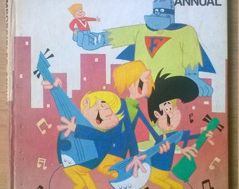 Hanna Barbera The Impossibles  annual 1968 jetsons  space ghost