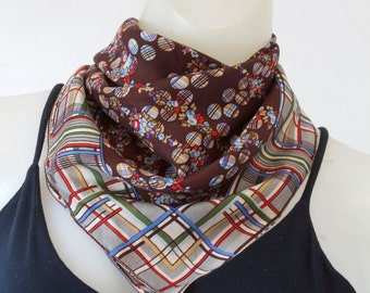 Saks Fifth Avenue Graphic Patterned Scarf