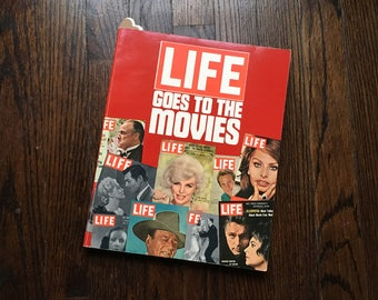LIFE Goes To The Movies 1975 TIME-LIFE Vintage Coffee Table Book Very Good Movie Film