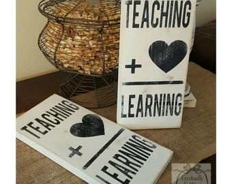 Teacher Gifts, Teacher Sign, Classroom Decor, Teacher Appreciation, Classroom Art, Flashcard Sign, Unique Teacher Gifts, Math Teacher Gift