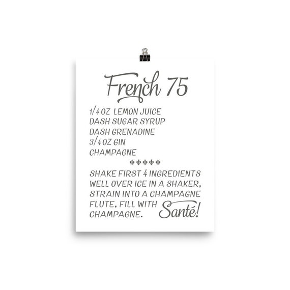 French 75 | Art Print