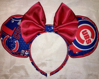 Chicago Cubs Ears