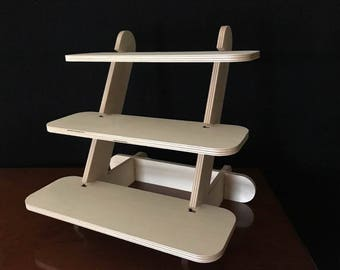 3-Tier 'Stack-n-Pack'.  Perfect for classes and events.  Save space as you display your favorite Young Living essential oils and products!
