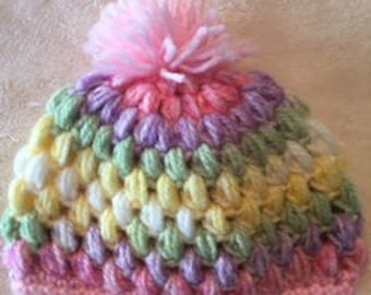 Preemie Baby hats for girl or boy.