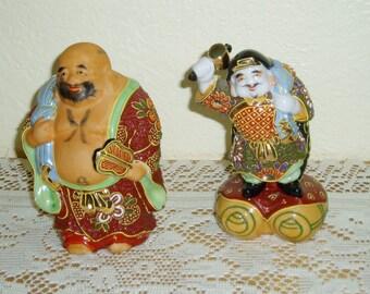 Vintage Japanese Kutani Figurines