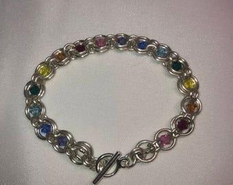 Crystal Dream Bracelet with Rainbow Crystals