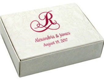 Favor / Cake Boxes~50 Personalized Monogram