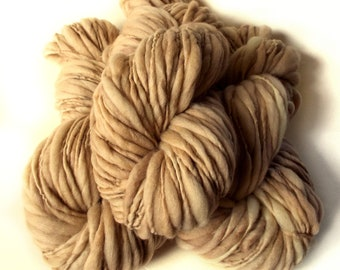 Chunky yarn merino wool yarn hand dyed yarn handspun yarn chunky wool bulky yarn weaving yarn thick and thin yarn chunky art yarn thick yarn