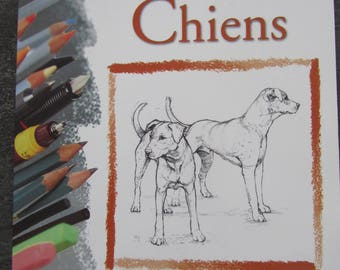 """Magazine learn to draw """"Dogs"""" - basic techniques"""
