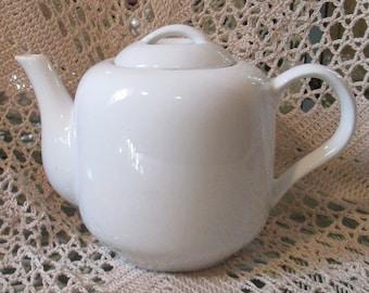 Vintage Dansk White Tea Pot