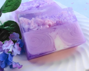 Country Fresh Lilac -  Soap Made with Goats Milk - Glycerin Soap - Handmade Soap - Spring Soap - Fresh Floral Soap - Best Selling Soap