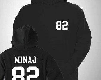 Minaj Varsity Hooded Sweatshirt College Hoody