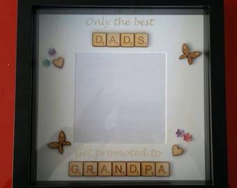Scrabble Frame - Dad / Grandpa