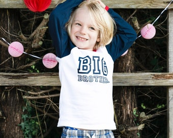 Big Brother Raglan Shirt | Big Brother Announcement Shirt | Big Brother Shirt | Raglan Big Brother