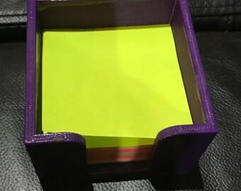 Sticky Note Holder - Includes Sticky Note Pad