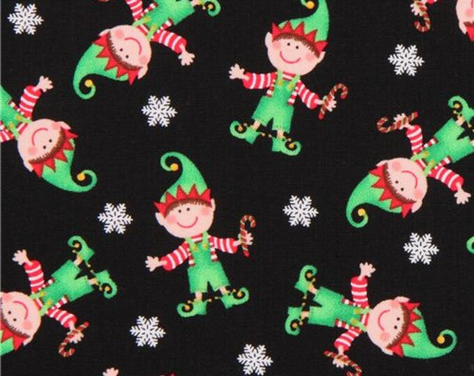 Elves fabric 100% cotton fabric, sold by the yard   #483