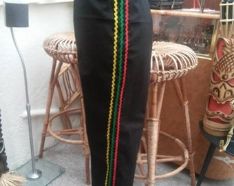 1950's inspired Mexican style Capri's.. High waisted Toreador pants ..
