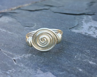 Rosette Wire Wrapped Ring