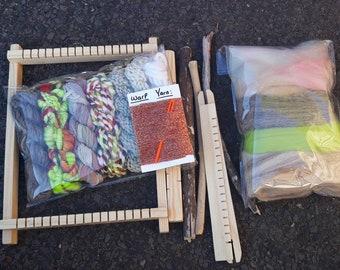 Small rectangle weaving kit #1