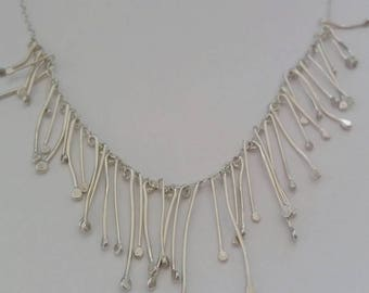 Silver Strand necklace