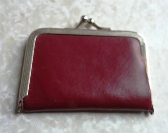 Change Purse Red 60s
