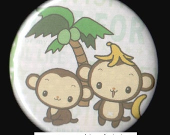 Monkey Business Button