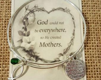Mother Birthstone Bangle