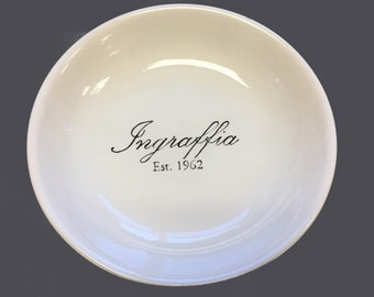 Personalized pasta bowl