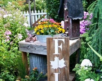 Fall Decor, Handpainted Signs, Typography, Rustic Signs, Fall Porch Decor, Autumn Decor, Harvest Decor, Thanksgiving, Farmhouse Decor