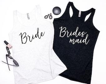 Bachelorette Party Shirts, Bridesmaid shirts, Bridal Party Tank Tops, Bride Tank, Bridal Party shirts, Bachelorette Party Tanks.