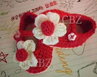 Shoes for Newborn, Newborn Shoes Crocheted, Crocheted shoes for girl, Baby Girl Shoes, Crocheted Shoes, Baby Booties, Crocheted Booties