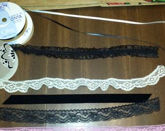 Make Your Own Lolita Choker Collar | Custom Lolita Collar | Build a Lace Collar