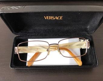 Vintage Versace Eyeglass Frames & Case