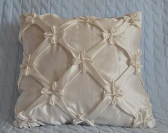 Decorative Satin pillow , cushion cover